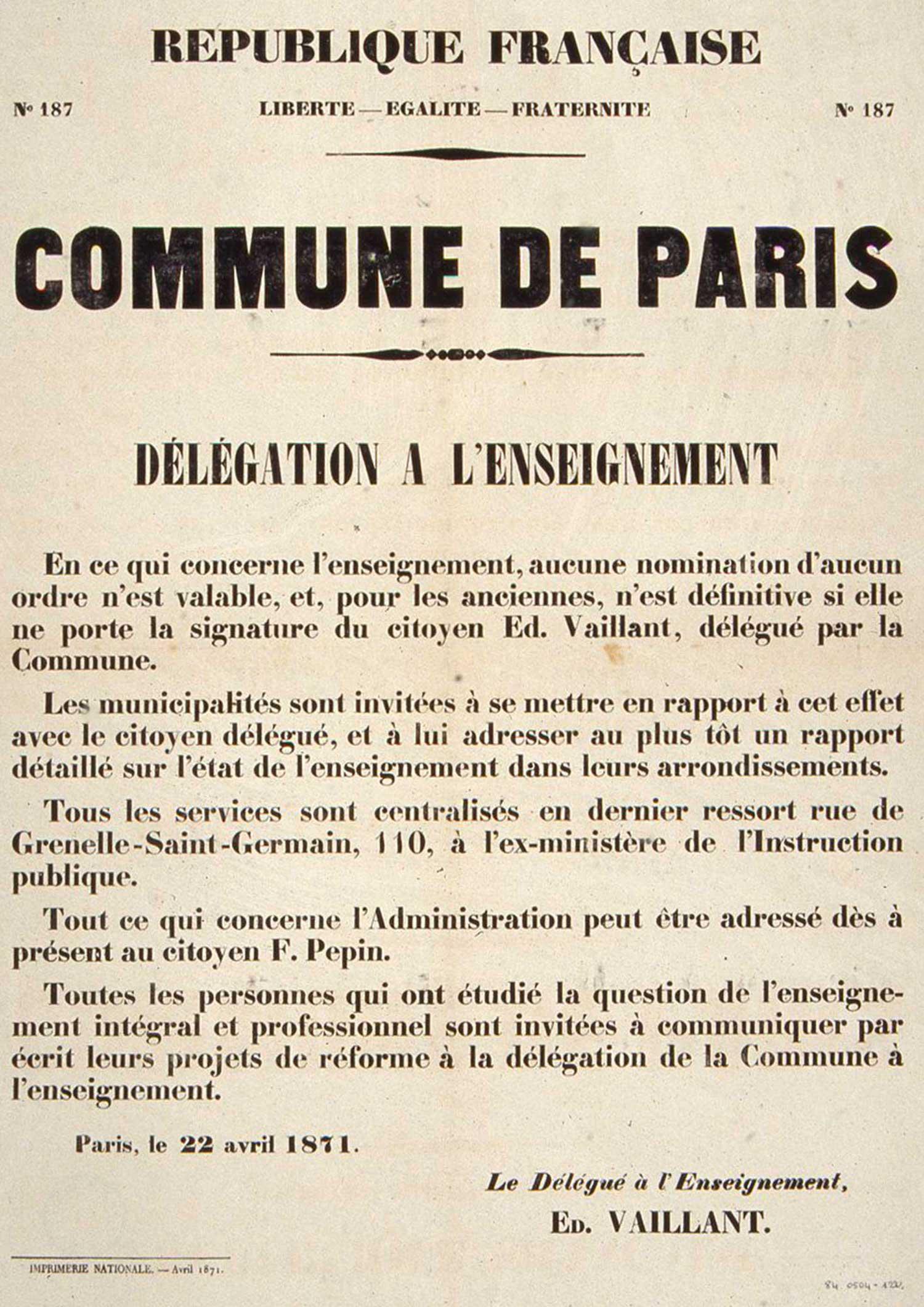 La Commune De Paris De 1871 Louise Michel Et L Anarchisme